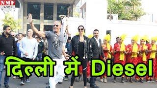 Hollywood फिल्म XXX के  promotion के लिए  Deepika Padukone के साथ Vin Diesel आए India