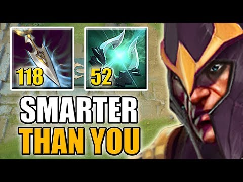 The most Intelligent Dota 2 Hero [Imba double attribute gain Silencer] Dota 2 Ability Draft