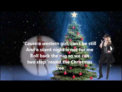 Suzy Bogguss   Two Steppin'  'Round The Christmas Tree with Lyrics