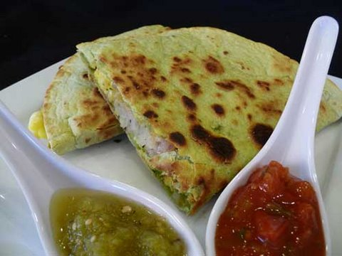 Breakfast Burritos (Quesadilla) Recipe - YouTube