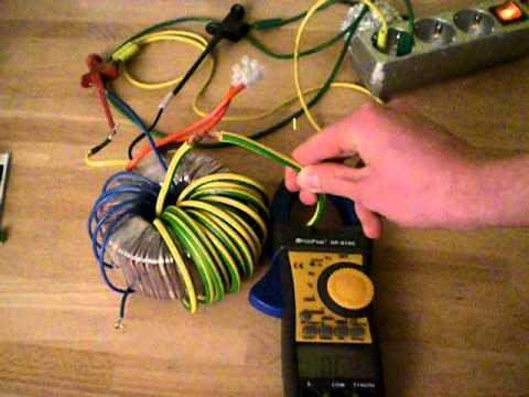 Toroidial High Current Transformer 540a 5v Ac Youtube