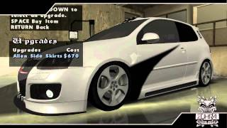 GTA San Andreas - Tunable Cars Mod