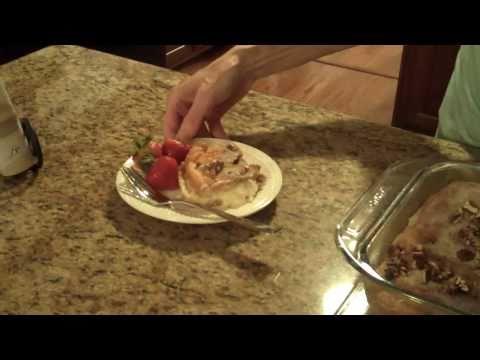 Cream Cheese Filled Coffee Cake- Lynn's Recipes