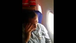 Old Man pays for molesting a girl on an Indigo flight. Respect to the Girl!!!