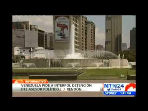 Venezuela pide a la Interpol detener a JJ Rendón, consultor político del opositor Henrique Capriles
