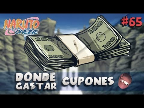 DONDE GASTAR CUPONES? Naruto Online NOOB A PRO #65