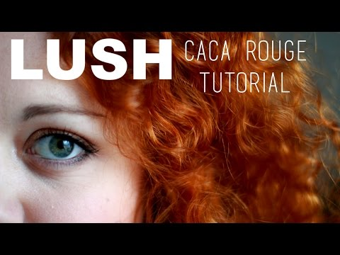 LUSH HENNA CACA ROUGE - Before and After {Tutorial}