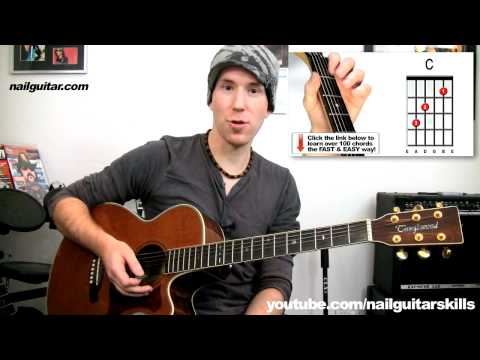 How To Play 'Mine' Taylor Swift - Easy Acoustic Guitar Lesson