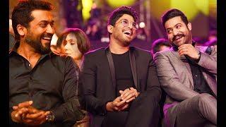 Allu Arjun, Jr.Ntr & Suriya Speech 64th Jio Filmfare Awards South 2017 Review By Selfie Queen