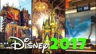 2017 Top 10 New Disney Rides and Attractions! | Disney World & Disneyland