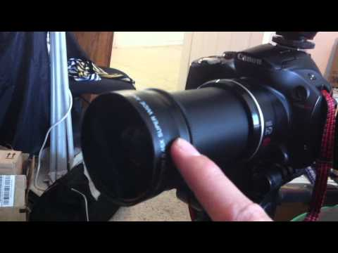 Canon SX40HS Super Cheap Essential Accesories Review