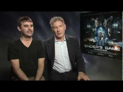 Ender's Game - Interview With Harrison Ford, Robert Orci & Gavin Hood