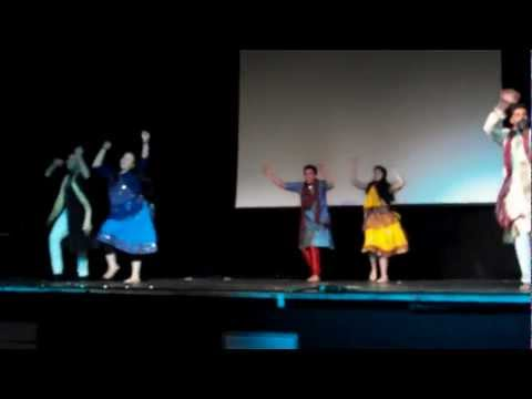 Student Of The Year Dance!  Diwali Ball 2012- Radha And Disco Deewane video