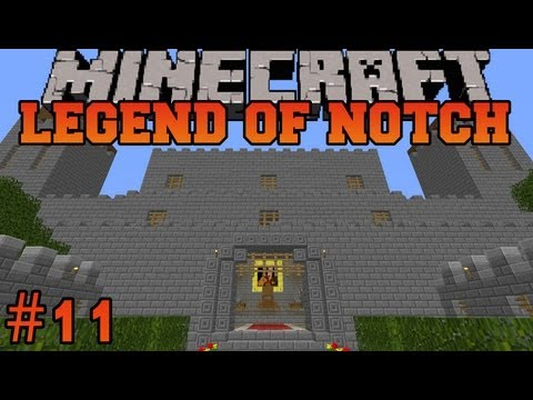 Minecraft: The Legend of Notch - Episode 11 - Zombie Island!