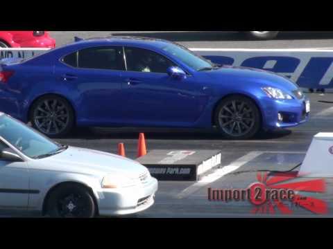Lexus ISF vs Honda Civic