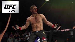 CONOR MCGREGOR VS. KHABIB NURMAGOMEDOV - UFC 229 (EA SPORTS UFC3)