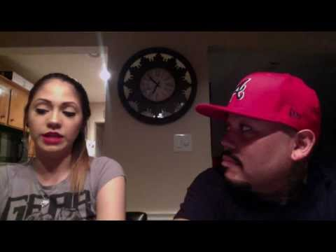 A.B. Quintanilla and wife Rikkie- #1 At Home