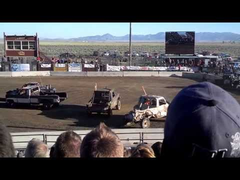 Demolition Derby Pony Express Days 2013