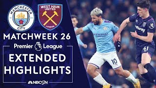 Man City v. West Ham PREMIER LEAGUE HIGHLIGHTS 2192020 NBC Sports