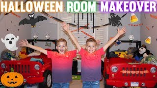 Halloween Bedroom Makeover! || Mommy Monday