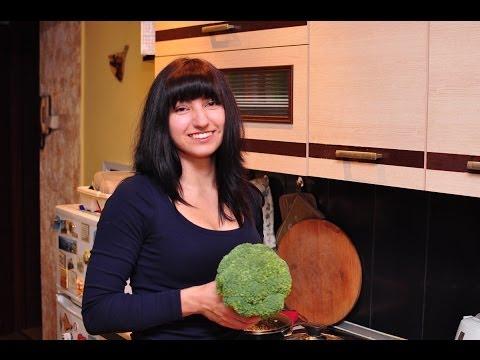 Жиросжигающий суп с брокколи и цветной капустой
