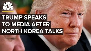 President Trump Holds News Conference Following North Korea Summit | CNBC