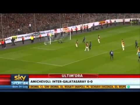 Galatasaray vs Inter 0-0  Amichevole 24/07/2011