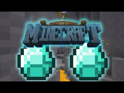 """Minecraft: SMP HOW TO MINECRAFT S2 #7 """"DIAMOND MINING VS LACHLAN"""" with JeromeASF"""