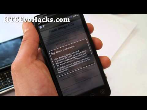 How to Install Kernel/ROM without Fastboot on HTC Evo 3D HBOOT 1.50 Using Flash Image GUI App!