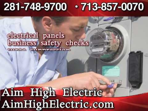 Aim High Electrical - Electric Contractors Katy, TX 77449
