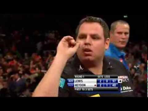 PDC World Darts Championship 2012  Adrian Lewis vs Nigel Heydon First Round