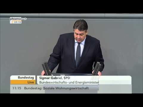 Wirtschaft: Regierungserklärung von Sigmar Gabriel am 29.01.2015