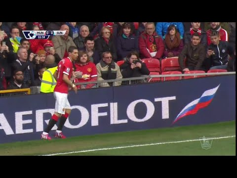 Angel Di Maria vs Sunderland Home (English Commentary) 2015 HQ