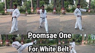 poomsae 1 explain in hindi by indian taekwondo fighter