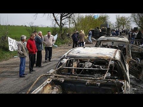 Ukraine : attaque mortelle à un barrage pro-russe près de Slaviansk