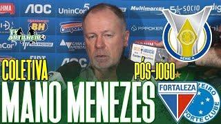 [Série A '19] Coletiva Mano Menezes | Pós-jogo Fortaleza EC 2 X 1 Cruzeiro EC | TV ARTILHEIRO