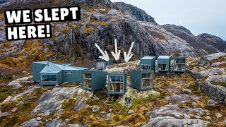 TINY HOME VILLAGE in Norway! (incredible sauna & outdoor shower)