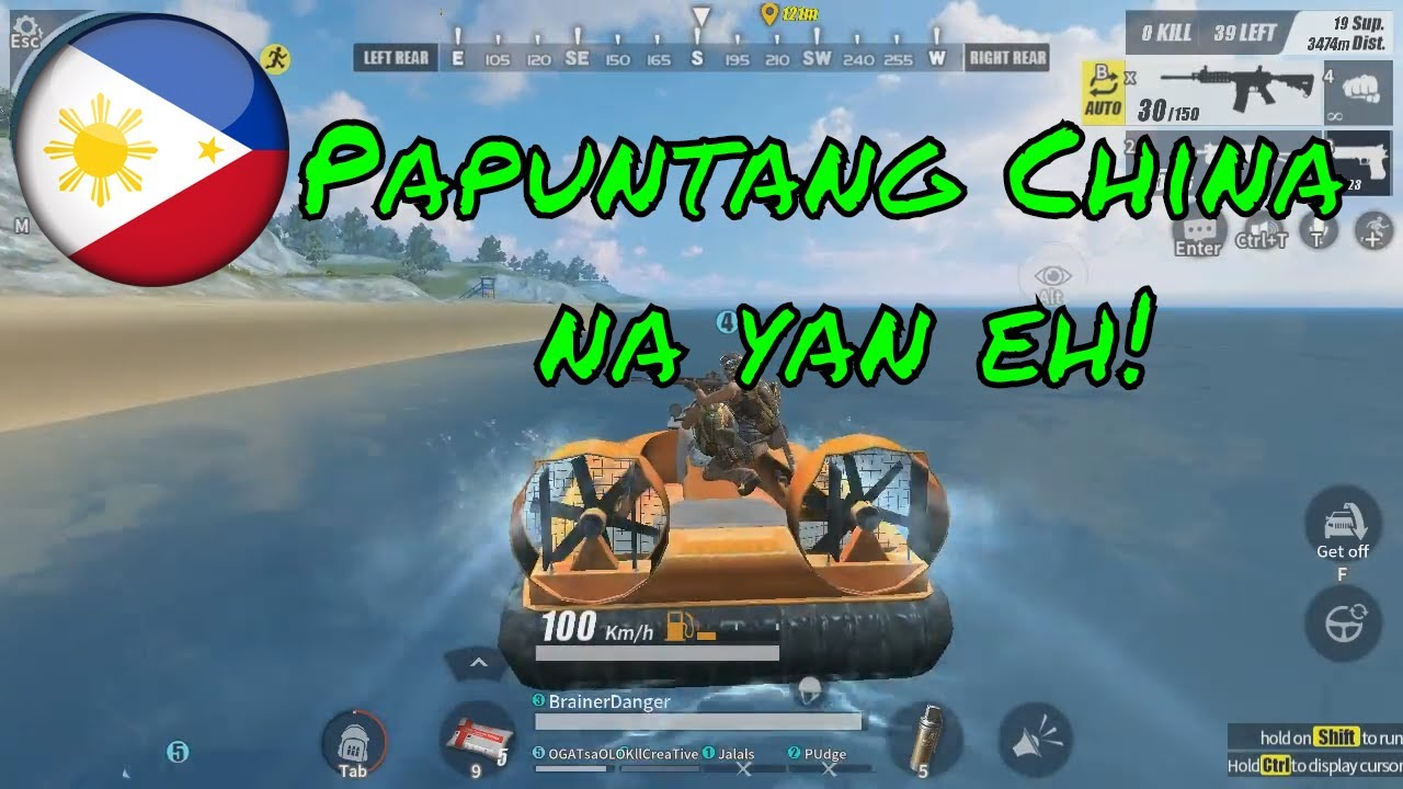Papuntang China - Funny - Rules Of Survival PC - Pinoy