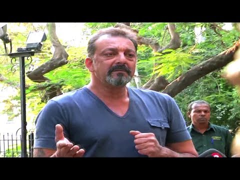 Sanjay Dutt Speaks To Media After Getting Out On Parole