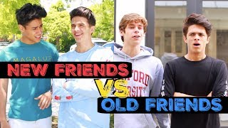 NEW FRIENDS VS OLD FRIENDS! | Brent Rivera