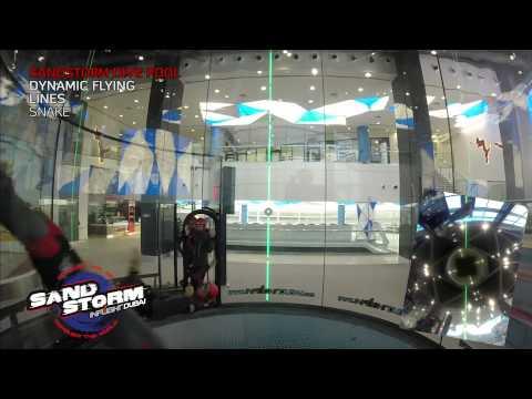 Inflight Dubai SandStorm - Dynamic flying dive pool - Lines