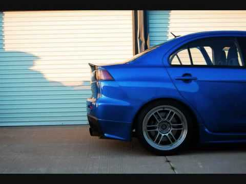 Some Awesome Lancer Evolution X