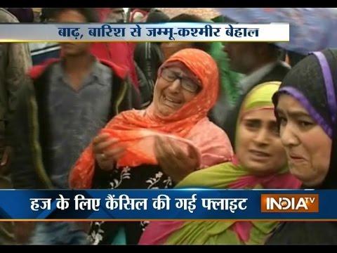 Jammu & Kashmir Flood Creates Havoc In The State - India TV