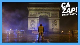 Gilets jaunes. Calme relatif autour de l'Etoile à Paris