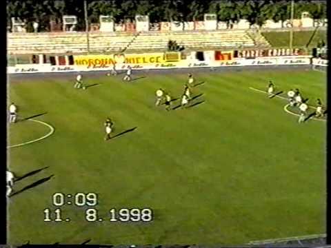 Polonia Warsaw (Poland) - Dynamo Moscow UEFA Cup 11.08.1998
