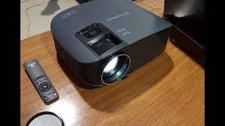 Vankyo 510 Leisure Projector: External Speaker Hook Up (How To Video)