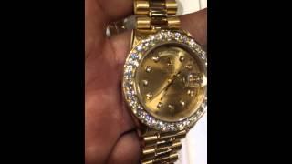 Mr Chris da jeweler Rolex collection