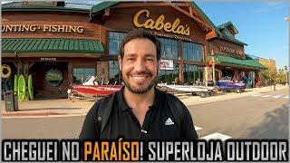 Super Loja Cabelas nos EUA de Sobrevivência, Caça, Pesca e Camping