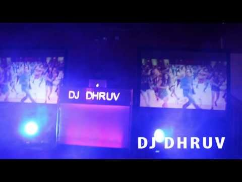 DJ Dhruv 2013 A Glance Behind The Scenes Projector setup - DJ Gear Log Mobile DJ Setup dj setup