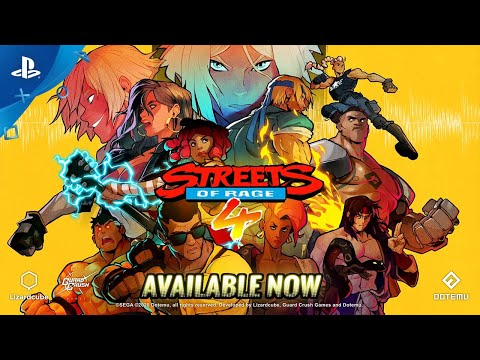 Streets of Rage 4 - Launch Trailer   PS4